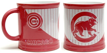 MLB Chicago Cubs Pink Stripe Mug 15oz - aomega-products