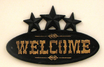 Cast Iron 3 Star Welcome