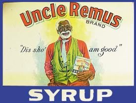 Tin Sign - Uncle Remus Syrup - aomega-products