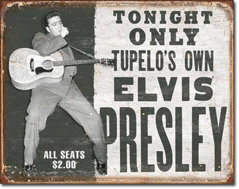 Elvis - Tupelo's Own - aomega-products