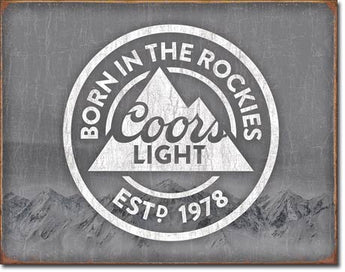 COORS LIGHT Born in the Rockies - aomega-products
