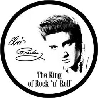 Tin Sign Elvis Presley - King Of Rock & Roll - aomega-products