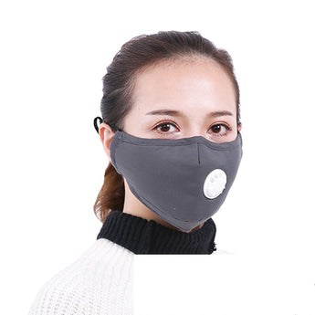 Fashion Thicken Anti Wind Mouth Muffle Anti Air Pollution Mouth Mask With Filter