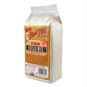 Bob's Red Mill 10 Grain Bread Mix (4x19 Oz) - aomega-products