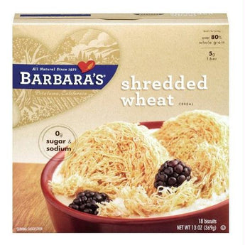 Barbara's Shredded Wheat (12x13 Oz) - aomega-products