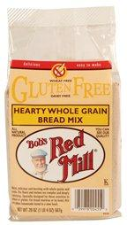 Bob's Red Mill Hearty Whole Grain Bread Mix G-free (4x20 Oz) - aomega-products