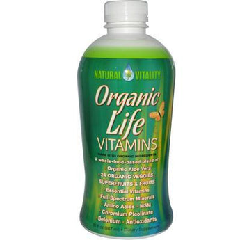 Natural Vitality Life Vitamins (1x30 Oz) - aomega-products