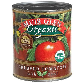 Muir Glen Crushed Tomato With Basil (12x28 Oz) - aomega-products
