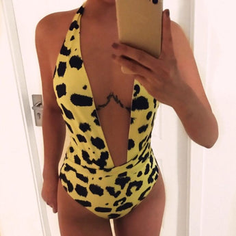 Fancinating Women Leopard Bikini Push-Up Padded - aomega-products