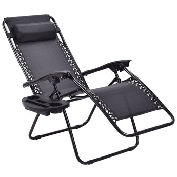 2pc Zero Gravity Chairs Lounge Patio - aomega-products