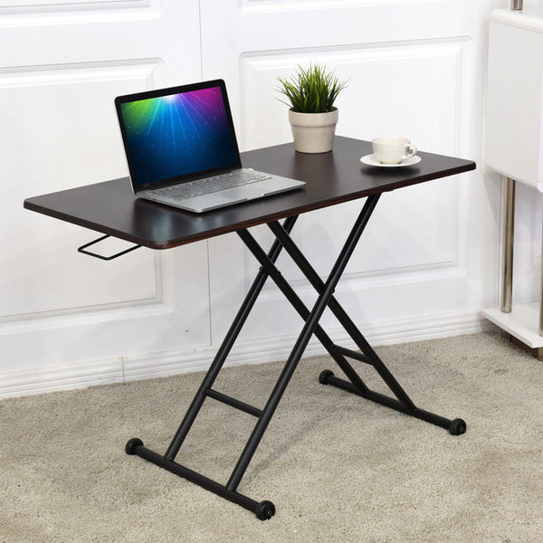Height Adjustable Standing Desk Converter - aomega-products
