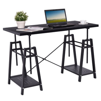 Modern Computer Desk Height Adjustable PC - aomega-products