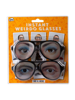 His & Hers Instant Video Weirdo Glasses (Available in a pack of 24) - aomega-products