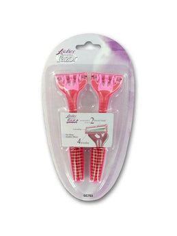 Ladies Disposable Razor Set (Available in a pack of 24) - aomega-products