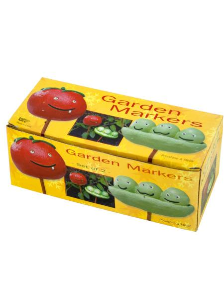 Tomato & Peas Garden Markers Set (Available in a pack of 24) - aomega-products
