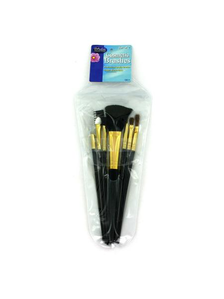 Cosmetic Brushes in Case (Available in a pack of 24) - aomega-products
