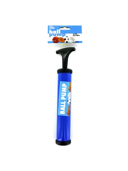 Sports Ball Pump with Needle (Available in a pack of 24) - aomega-products