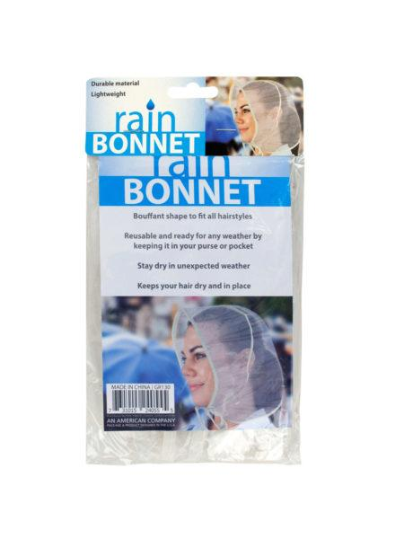 Bouffant Style Rain Bonnet (Available in a pack of 24) - aomega-products