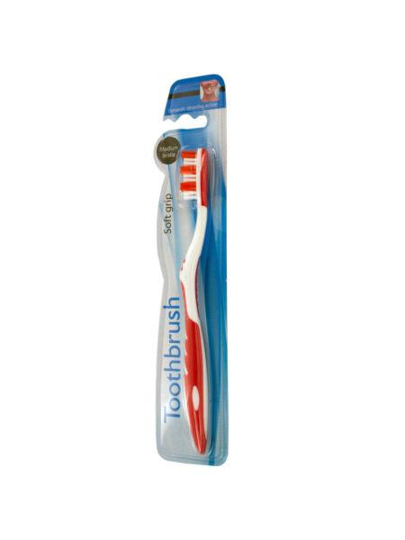 Soft Grip Medium Bristle Toothbrush (Available in a pack of 36) - aomega-products