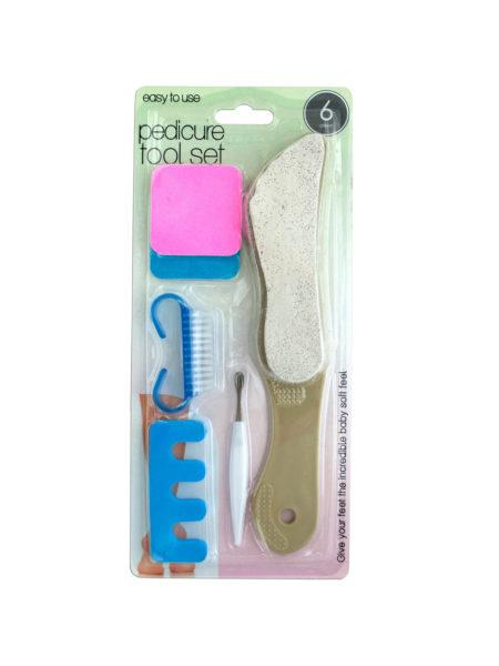 Pedicure Tool Set (Available in a pack of 16) - aomega-products