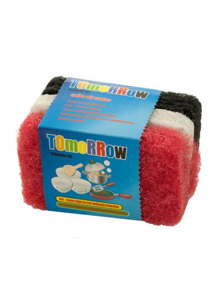 Thick Multi-Purpose Scouring Pads Set (Available in a pack of 24) - aomega-products