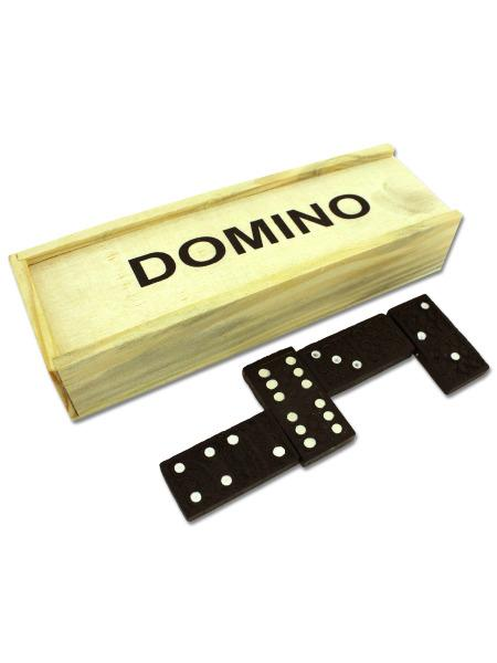 Domino Set in Wooden Box (Available in a pack of 30) - aomega-products