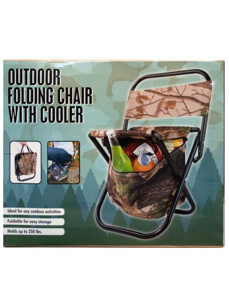Outdoor Folding Chair with Cooler Bag (Available in a pack of 1) - aomega-products