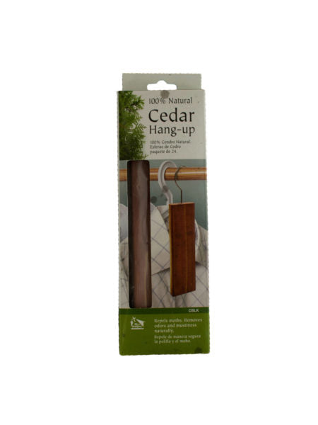 Cedar Hang Up: Clothing Protector & Freshener (Available in a pack of 24) - aomega-products