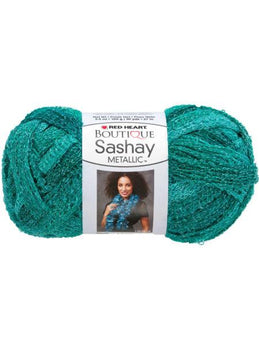 Malachite Metallic Sashay Yarn (Available in a pack of 24) - aomega-products