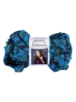 Metallic Blue & Teal Laguna Ribbons Yarn (Available in a pack of 24) - aomega-products