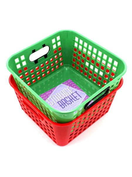 Square Storage Basket (Available in a pack of 24) - aomega-products