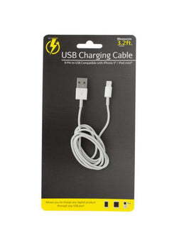 3.2' iPhone USB Charge & Sync Cable (Available in a pack of 12) - aomega-products