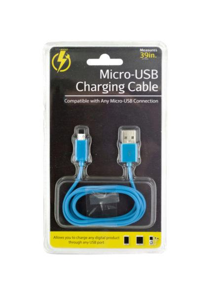 Universal Micro-USB Charging Cable (Available in a pack of 24) - aomega-products