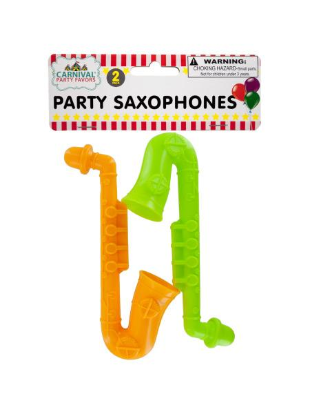 Party Saxophones (Available in a pack of 24) - aomega-products