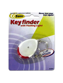 Sonic Key Finder Key Chain with Flashing Light (Available in a pack of 24) - aomega-products