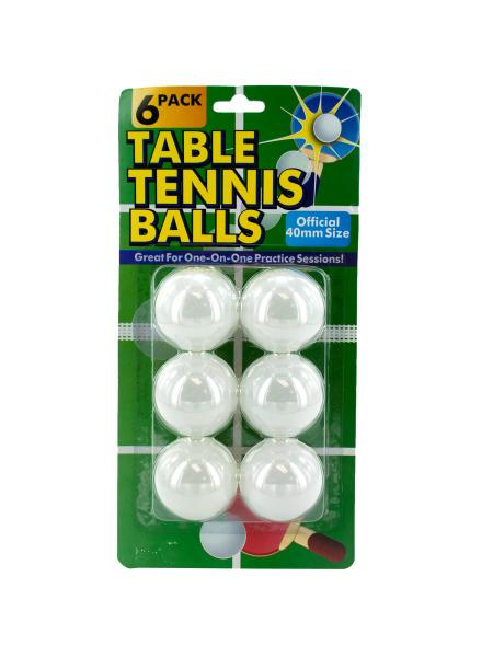 Table Tennis Balls Set (Available in a pack of 24) - aomega-products