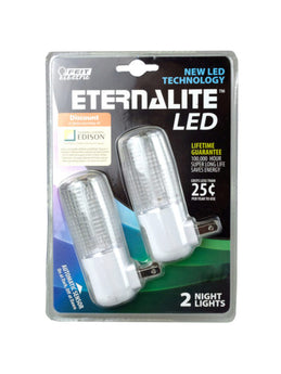 Feit Electric Eternalite LED Night Light 2 pack (Available in a pack of 6) - aomega-products