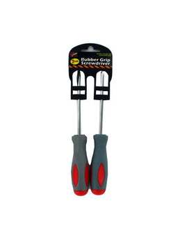 Rubber Grip Screwdriver Set (Available in a pack of 24) - aomega-products