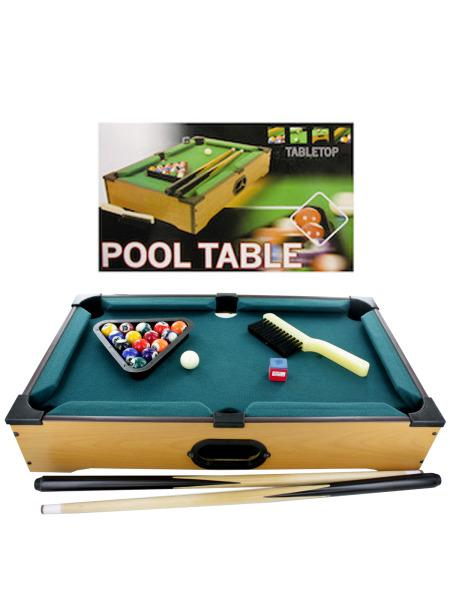 Tabletop Pool Table (Available in a pack of 1) - aomega-products