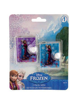 Disney Frozen Mini Key Chain Notebooks Set (Available in a pack of 24) - aomega-products
