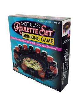 Roulette Drinking Game (Available in a pack of 1) - aomega-products