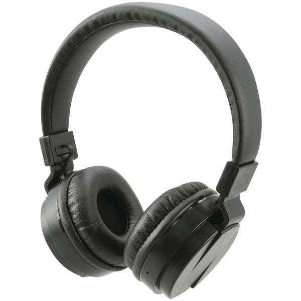 iLive iAHB6B Bluetooth Wireless Headphones with Microphone (Black) - aomega-products