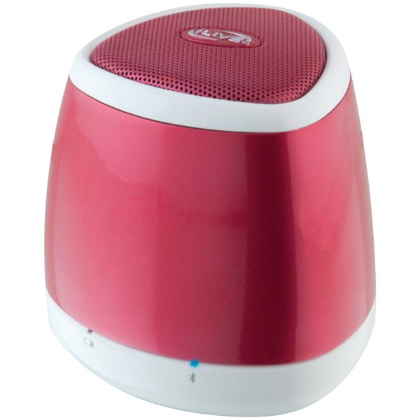 iLive Blue iSB23R Portable Bluetooth Speaker (Red) - aomega-products