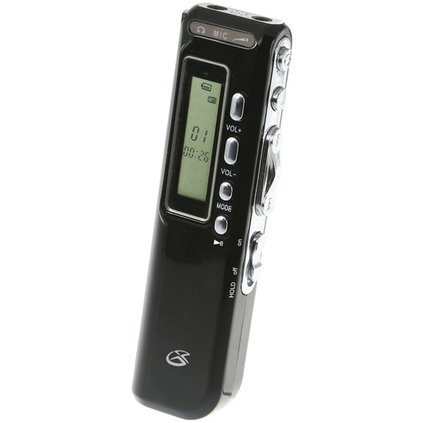 GPX PR047B MP3 Digital Voice Recorder - aomega-products