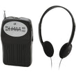 GPX R116B Portable AM-FM Radio - aomega-products