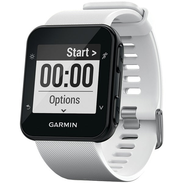 Garmin 010-01689-03 Forerunner 35 GPS-Enabled Running Watch (White) - aomega-products