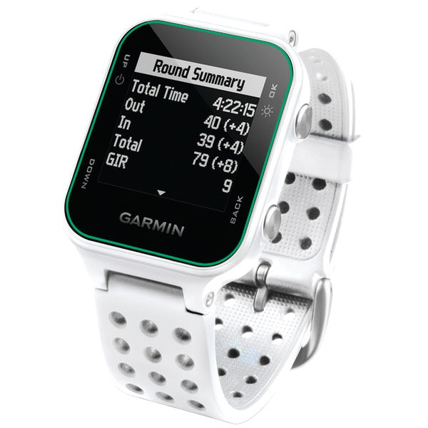 Garmin 010-03723-00 Approach S20 GPS Golf Watch (White) - aomega-products