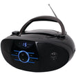 JENSEN CD-560 Portable Stereo CD Player with AM-FM Stereo Radio & Bluetooth - aomega-products