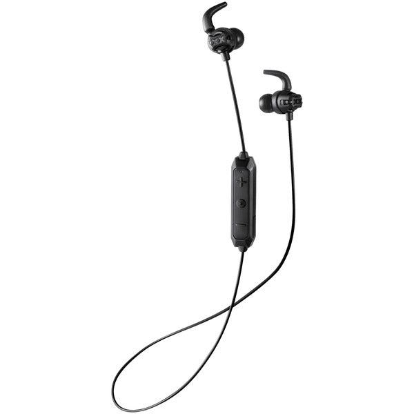 JVC HAET103BTB XX Fitness Sound-Isolating Bluetooth Earbuds (Black) - aomega-products