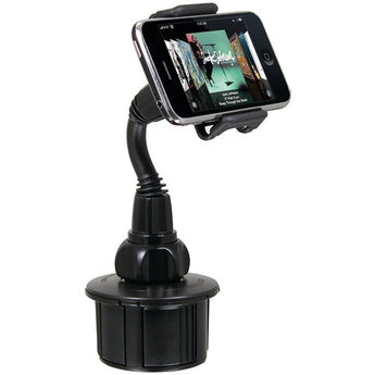 Adjustable Cup Holder for iPhone(R)-iPod - aomega-products